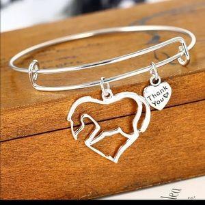 Jewelry - Horse Pendant Charm Bracelet